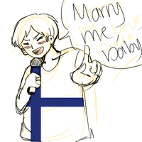 Hetalia scribble: Marry me,baby-Sve by Aris-Falcon
