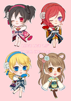 LoveLive Charms! by Serandaria