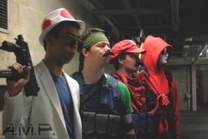 Mario Warfare Group by Leadmill
