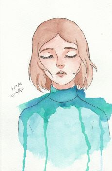 Teal by WolfieANNE