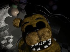 Golden freddy by scp 008