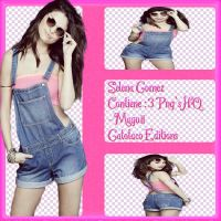 SELENA GOMEZ PACK   -Maguii by GatotacoEditions