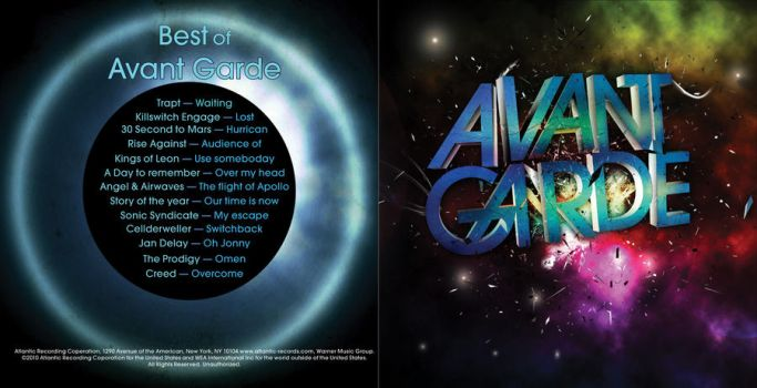 Avant Garde Cover front by coolke