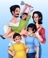 The Belchers by Maxxie-Delu