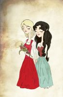 Rose Red and Snow White by foreverbeginstoday