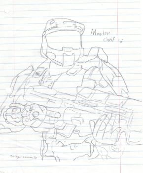 Master chief by daze16