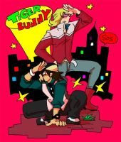 TIGER AND BUNNY by BACBAC-MIKI