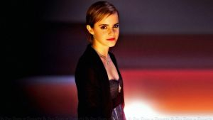 Emma Watson Night Wallflower II by Dave-Daring