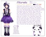 Ailumela's Character Reference by HeartTeddies
