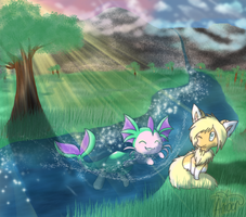 Friendship River by Ambunny