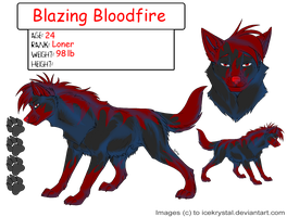 Blazing Bloodfire-breedable- by The-Breeder