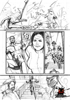 VH - Os combatentes Pencil Sequential art by me by viniciusdesouza