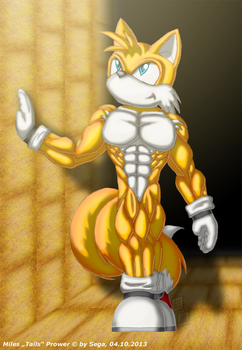 Muscular Tails 2 by ginkaze