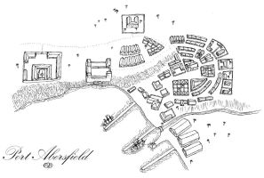 Map for DnD: Port Abersfield by Squirrel-slayer