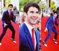 Darren Criss at HP Premiere by FederiKa94