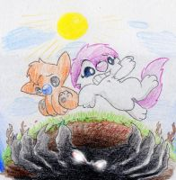 Emma in Rumble Down Under... by Mickeymonster