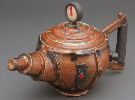 Steampunk Tea Pot 1 by cl2007