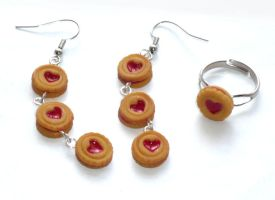 Jammie Earrings and Ring Trade by CountessCocoFang