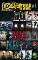 iPhone Lockscreen collection 1 by Martz90