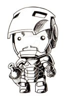Ironman chibi doll by KevinRaganit