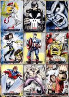 Marvel Beginnings cards part1 by whu-wei