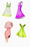 FRUITY DRESSES by 18bAnAnAs