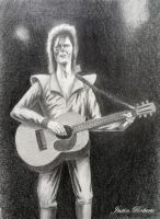 David Bowie by jrobertsart