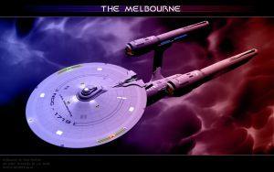 Federation Starship Melbourne3 by Joran-Belar
