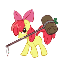 Apple Mallet by BambooDog