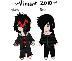 Vin: Then and now by Blood-Demon-Shinobi