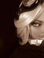 Xenon in Sepia by Eve-of-WinterStar