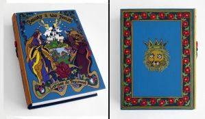 Beauty and the Beast hideaway book box by RFabiano