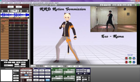 [MMD-Commission] Exo - Mama [WIP] by NatsumiSempai