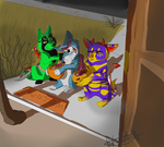 Trick-or-Treat {Request} by JackdawTheFabulous