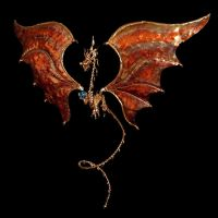 Bronze and Copper Dragon by BronzeSmith