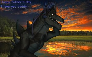 Happy fathers day by Spino2006