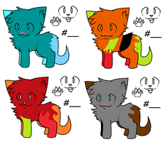 Cute Cat Adopts! by fooo4