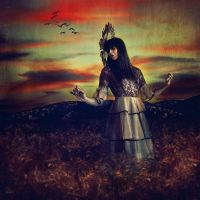 The wheat queen by LidiaVives