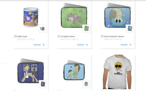 Zazzle Store by spot1the2dog3