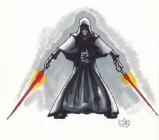 Darth Sidious prepared by gordzilla1971