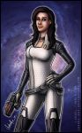 Mass Effect: Miranda Lawson by Lukael-Art