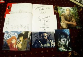 Signed Stuff by Youjeen