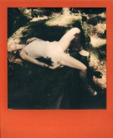 Pierrine in the forest - Polaroid 4 by Who-Is-Chill