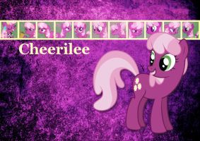 Cheerilee Wallpaper by phasingirl