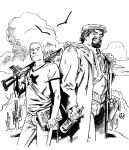 Archer and Armstrong by deankotz