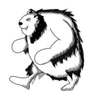 The Yeti Badger by Scimew
