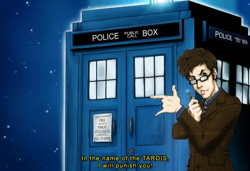 DW - In the name of the TARDIS by Kumagorochan