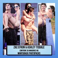 Photopack 497: Zac Efron and Ashley Tisdale by PerfectPhotopacksHQ