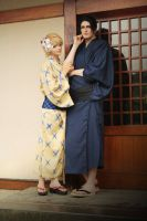 Viewfinder: Asami and Takaba (Yukata) by Etienne-Magique