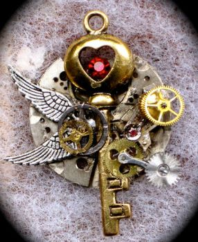 Steampunk Key by Lucky978